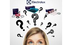 Как выбрать теплый пол Электролюкс?