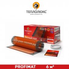 Мат нагревательный Теплолюкс ProfiMat 6 м²