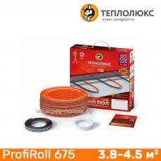 Нагревательный кабель Теплолюкс ProfiRoll 675