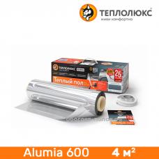 Нагревательный мат Теплолюкс Alumia 600 4 м²