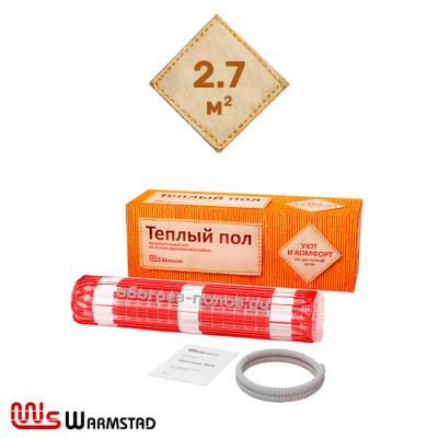 Нагревательный мат Warmstad WSM-400-2,7